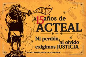 A 15 años de Acteal