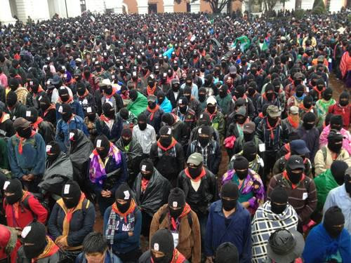 movilización zapatista 21 dic 2012