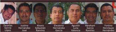 7 presos Loxicha-