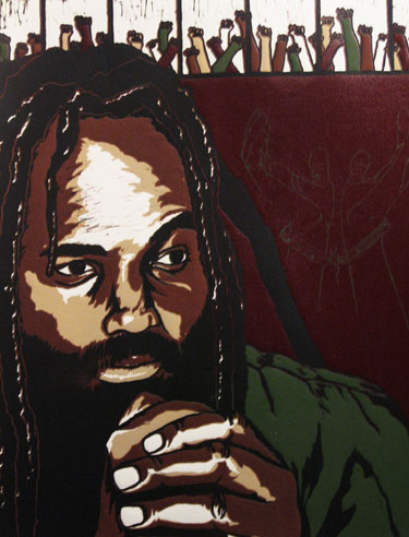 Free Mumia, por Rachel Weidkam