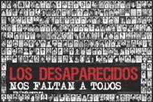 Los desaparecidos nos faltan a todos