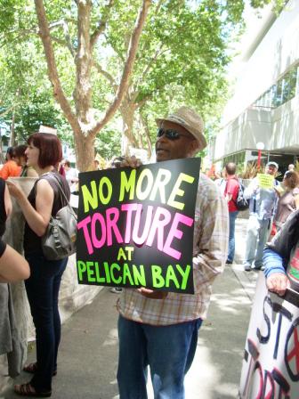 Pelican-Bay-hunger-strike-rally-Emory-Douglas-CDCR-HQ-Sacramento-0718111