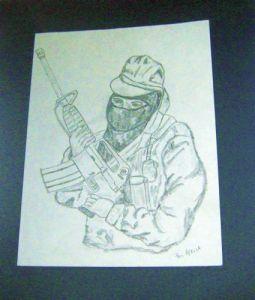 Combatiente zapatista-