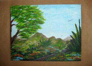 Mountain Landscape-