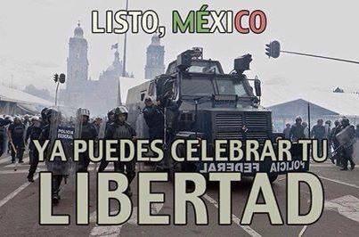 Listo México -- ya puedes celebrar tu libertad