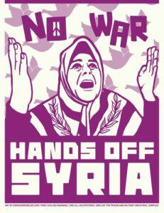 No war. Hands off  syria-