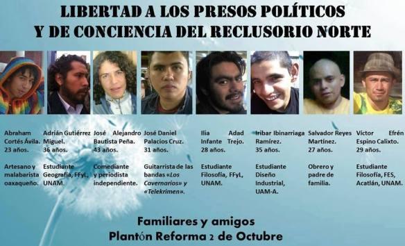 presos 2 de octubre 2014