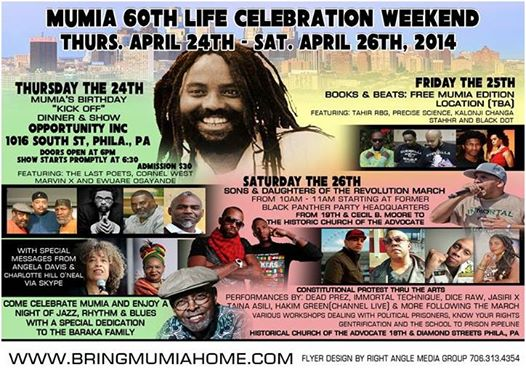 Mumia Life Celebration Weekend