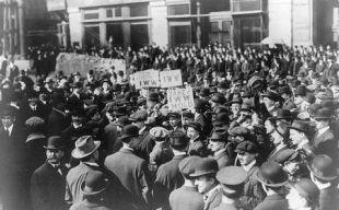 IWW_demonstration_NY_1914-