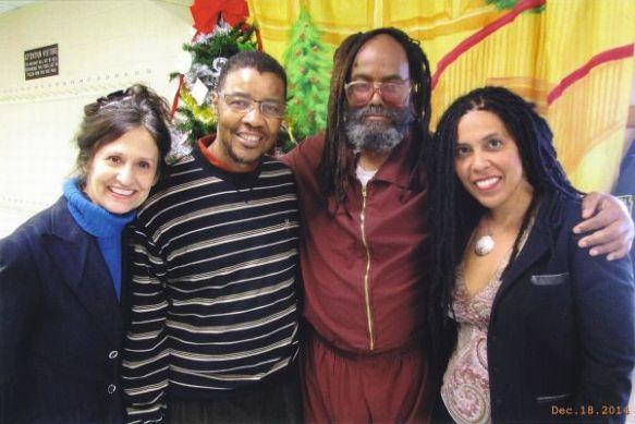 Mumia, 18 de diciembre 2014, con Heidi Boghosian, Keith Cook y Johanna Fernandez