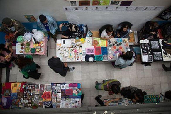 Tianguis Cultural Jungla S(7)aba por Mumia Abu Jamal de El77 Centro Cultural Foto: El77 CC BY-NC-SA
