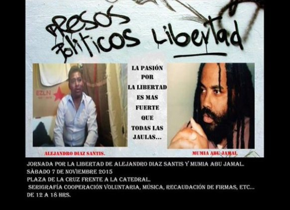 Alejandro Diaz Santis y Mumia