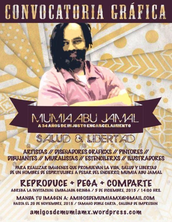 Mumia convocatoria gráfica-