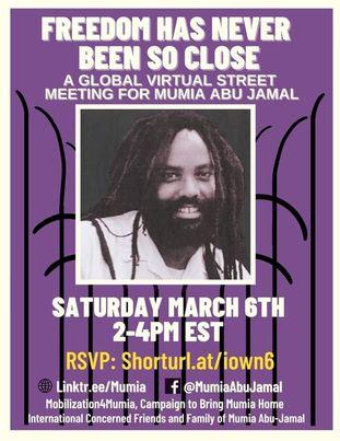 mumia street meeting 1 march 6