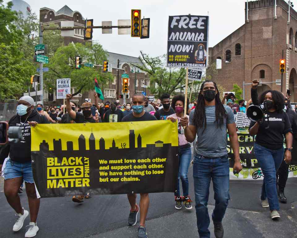 Penn march Photo Gabriel Bryant