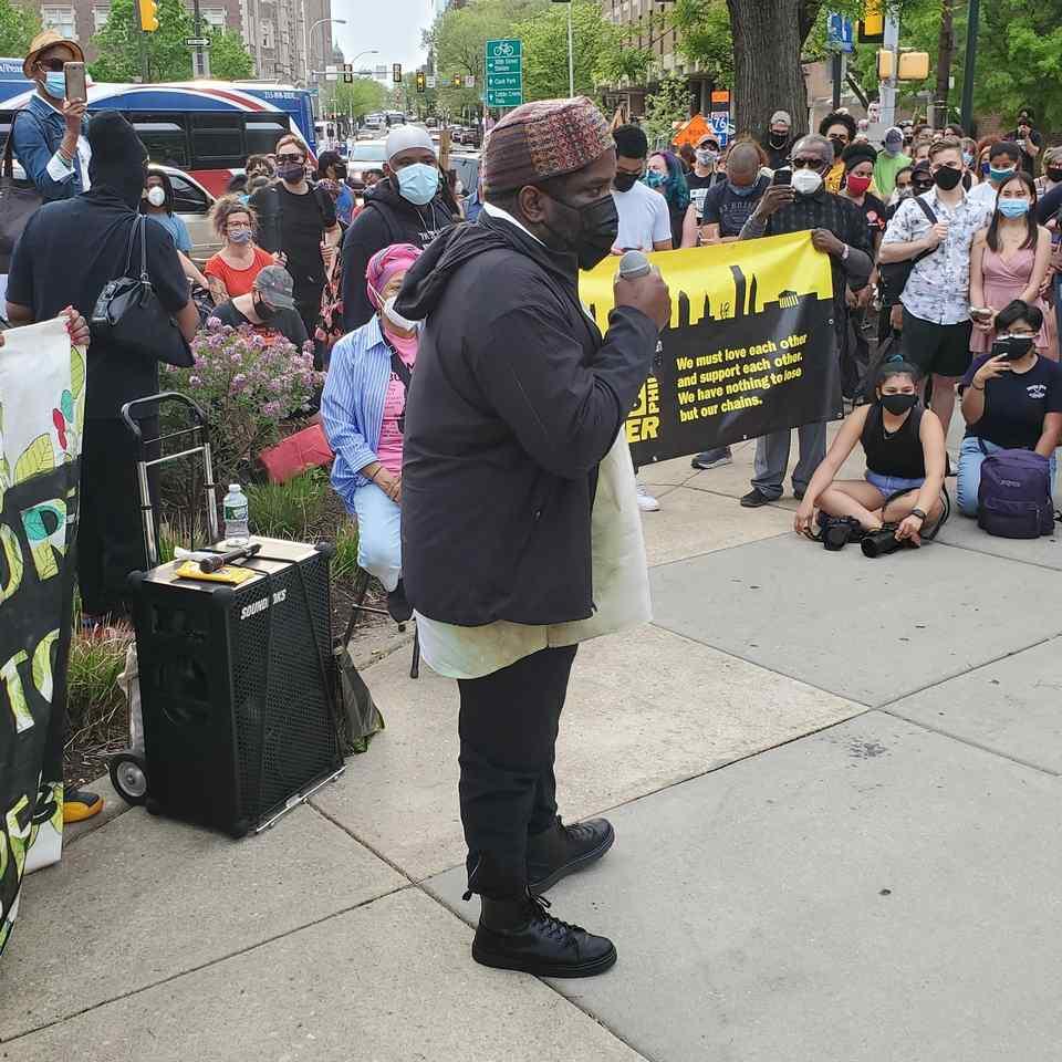 Penn protest Abu Ali Photo Gabriel Bryant