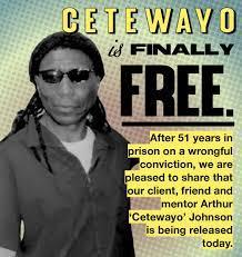 Cetewayo is finally free